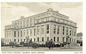 State Office Bldg South Carolina Postcard (Image1)