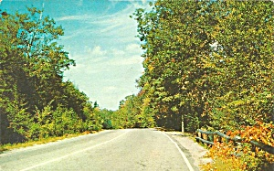 Fort Plain NY Highway Scene postcard p35690 (Image1)