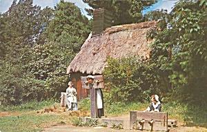 Salem Ma Pioneer Village Pillory Stocks P35713 Paper And Ephemera Postcards Regional Us Massachusetts At Tymes Remembered