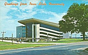 Ames Ia Iowa State University Postcard P35728