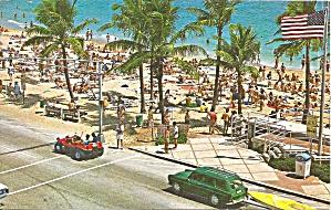 Ft Lauderdale FL Las Olas Blvd Postcard p35751 1979 (Image1)