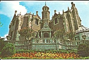 Walt Disney World The Haunted Mansion postcard p35752 (Image1)
