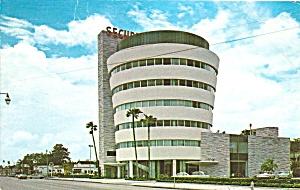 St Petersburg FL  Security Federal Savings Bldg p35756 1973  (Image1)