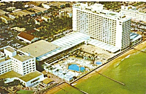 Miami Beach Fl New Carillon Hotel 1959 Postcard P35759