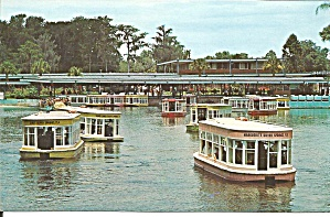 Silver Springs Fl Glass Bottom Boats Postcard P35782