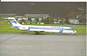 Finnair Md-87 Oh-lma Postcard P35795