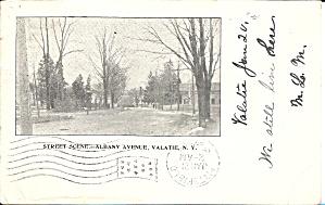 Valatie NY Albany Street 1909 postcard p35853 (Image1)