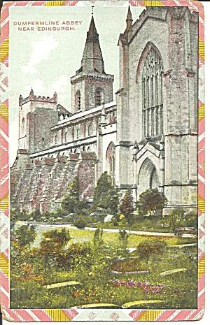 Edinburgh Scotland Dumfermline Abby postcard p35858 (Image1)
