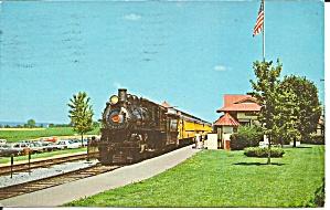 Starsburg PA Starsburg Rail Road 1978 postcard p35881 (Image1)