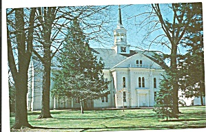 Lititz Pa Moravian Church Postcard P35889