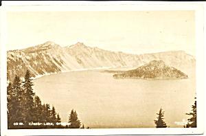 Crater Lake OR 1936 postcard p35913 (Image1)