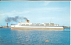 Auto Passenger Ferry Princess Anne Postcard P35917