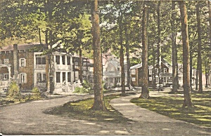 Chautauqua NY Miller Park Handcolored p35927 (Image1)