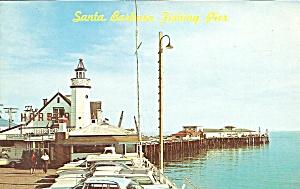 Santa Barbara CA Fishing Pier p35936 (Image1)