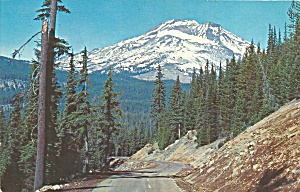 Cascade Lakes OR South Sister postcard p35938 (Image1)