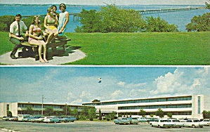 Kingston OK Lake Texoma Lodge postcard p35942 (Image1)