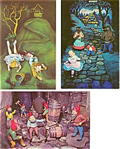 Rock City Gardens TN Postcards Lot of 3 p3594 (Image1)