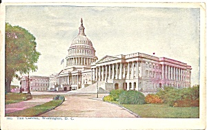 Washington Dc The Capitol Building Postcard P35969