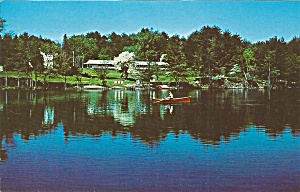 Chestertown NY Viking Motel postcard p35971 (Image1)