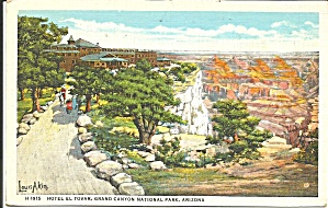 Grand Canyon Az Hotel El Tovar Fred Harvey P35984