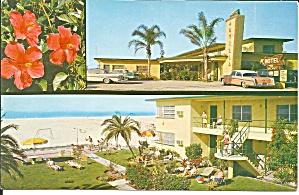 St Petersburg FL Arvilla Motel postcard p36003 (Image1)