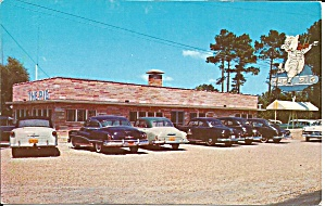 Jesup GA The Pig Bar B Que postcard p36006 (Image1)