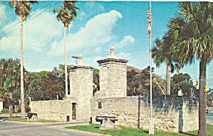 St Augustine FL Old City Gates p36023 (Image1)