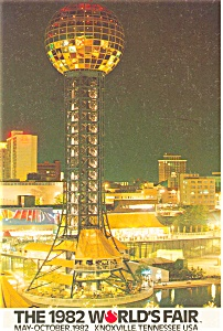 1982 World s Fair Postcard p3603 (Image1)