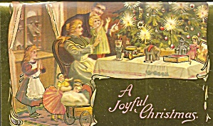 Vintage Christmas Card Reproduction P36053