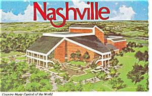 Grand Old Opry Nashville TN Postcard p3605 (Image1)
