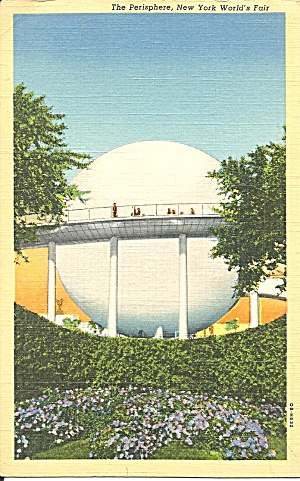 New York World S Fair The Perisphere Postcard P36071