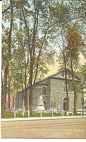 Kingston NY Reformed Protestant  Dutch Church p36072 (Image1)