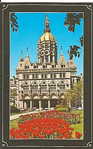 Hartford CT State Capitol postcard p36076 (Image1)