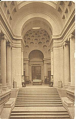 Boston MA Museum of Fine Arts 1922 postcard p36088 (Image1)