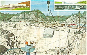 Rock of Ages Quarry  Vermont  Postcard (Image1)
