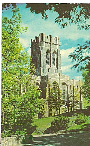 West Point NY Cadet s Chapel postcard p36117 (Image1)