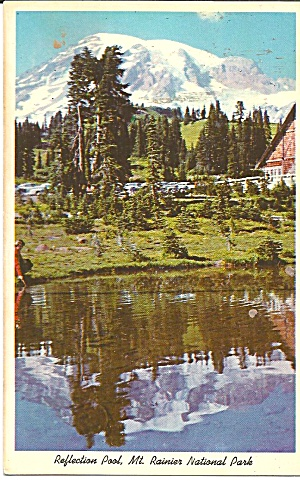 Mt Rainier National Park Reflection Pool p36129 (Image1)