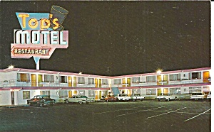 Anaheim Ca Top S Motel Restaurant P36137