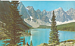 Canadian Rockies Canada Moraine Lake Postcard P36165