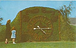 Dearborn MI Greenfield Village Floral Clock p36167 (Image1)