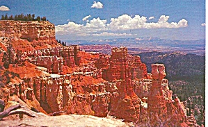 Bryce Canyon National Park Aqua Point postcard p36172 (Image1)
