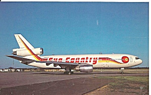 Sun Country Dc-10-40 N144jc Postcard P36196