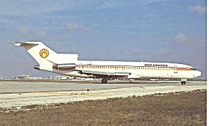 Sun Country 727-264 Ei-brf Postcard P36228