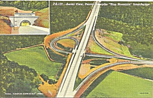 Pennsylvania Turnpike Blue Mountain Interchange P36230