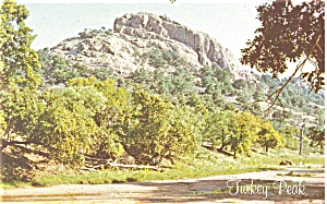 Frederickburg Texas Turkey Peak Postcard (Image1)