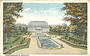 St Louis MO Shaw s Gardens 1917 postcard p36246 (Image1)