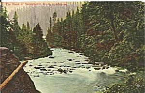 Sacramento River California postcard p36247 (Image1)