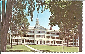 Dartmouth Nh College Dartmouth Hall P36248
