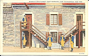 Ft Ticonderoga NY Ethan Allen Stairway p36260 (Image1)