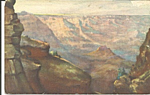 Grand Canyon National Park Az Postcard P36278